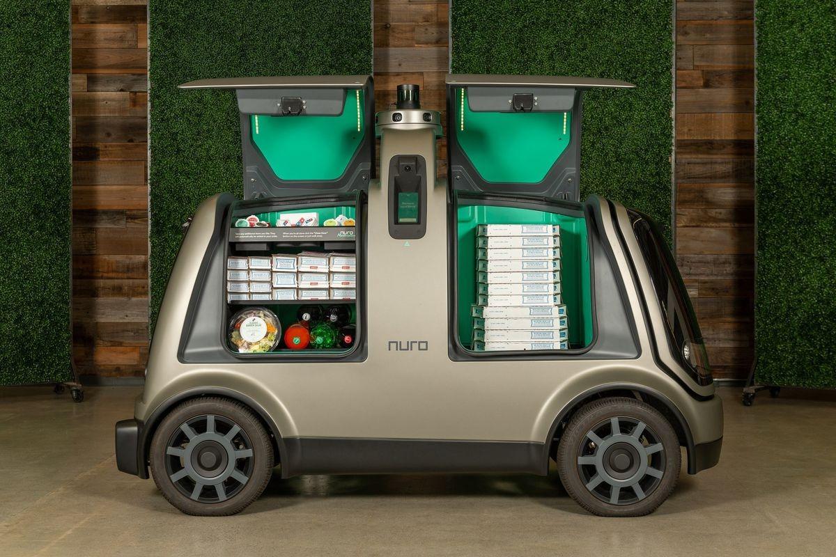 In futuro un'auto senza conducente consegnerà la spesa?